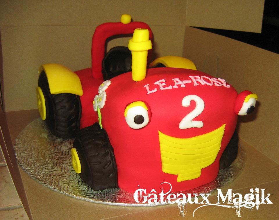 Tracteur tom 2 g teaux magik - Le tracteur tom ...