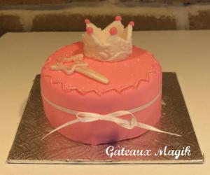 mini cake princesse