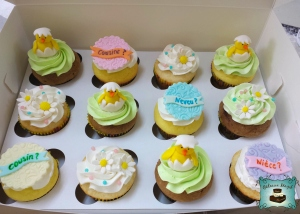 cupcakes bebe paques-